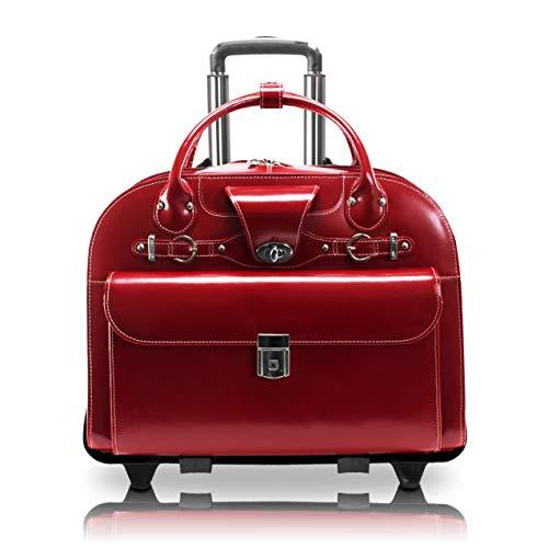 Top 10 McKlein Rolling Briefcase – Laptop Briefcases