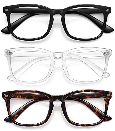 Top 10 Fashion Glasses for Women Non Prescription Clear – Computer Blue Light Blocking Glasses
