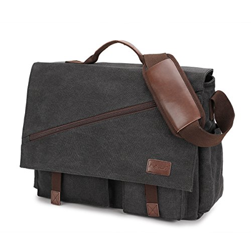 Top 10 Waxed Canvas Laptop Bag – Laptop Messenger & Shoulder Bags