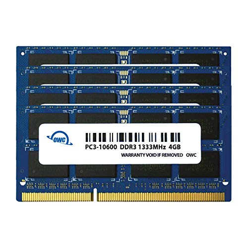 Top 10 1333MHz DDR3 SO-DIMM Pc10600 204 Pin – Computer Memory