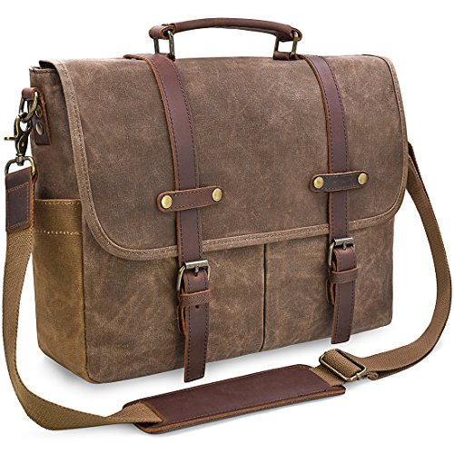 Top 10 Leather Laptop Bags for Men – Laptop Messenger & Shoulder Bags