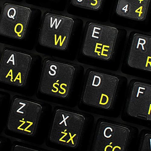 Top 10 Polish Keyboard Stickers – Computer Keyboard Skins