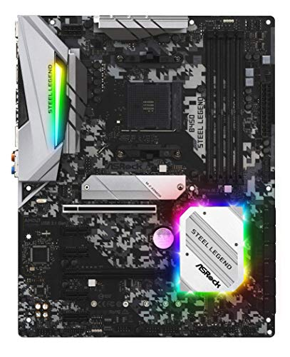 Top 10 ASRock B450 Steel Legend ATX AM4 Motherboard – Computer Motherboards