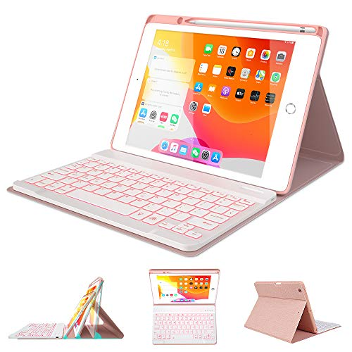 Top 10 10.2 inch iPad Case with Keyboard and Pencil Holder – Tablet Keyboard Cases