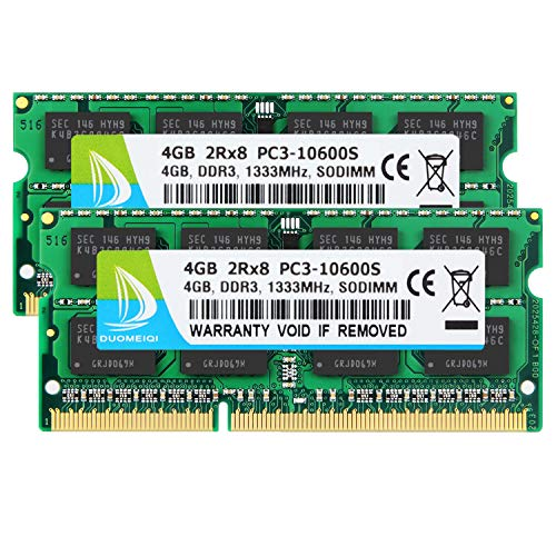 Top 10 DDR3 PC3-10600 1333MHz 204-Pin SODIMM – Computer Memory