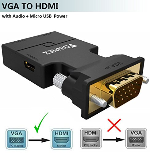 Top 10 VGA to HDMI Adapter – Computer Cables & Interconnects