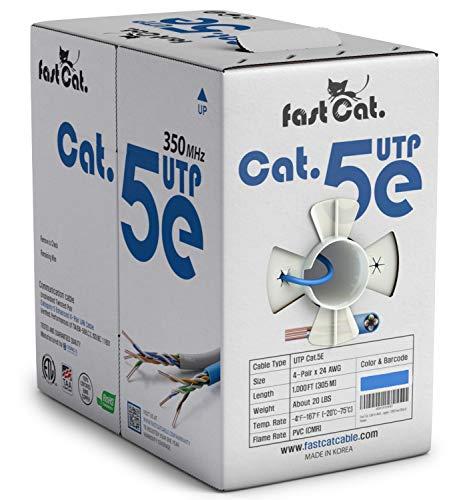 Top 10 Cat5e Ethernet Cable 1000ft – Cat 6 Ethernet Cables