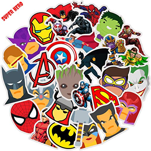 Top 10 Superhero Laptop Stickers – Laptop Skins & Decals