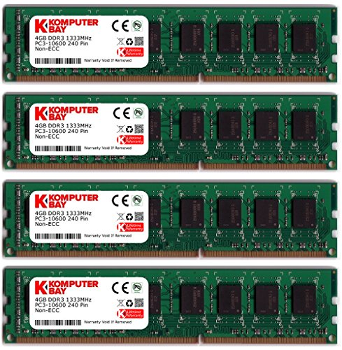 Top 10 4x4GB DDR3 – Computer Memory