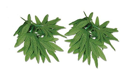 Tropical Fern Leaf Wristlet/Anklet 10″ Set Of 2