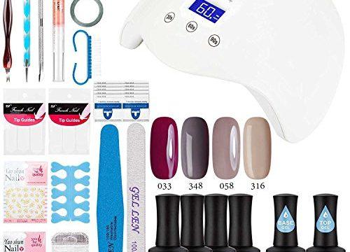 Amazon.com : Gellen Gel Nail Polish Starter Kit - with UV
