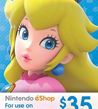 $35 Nintendo eShop Gift Card Digital Code