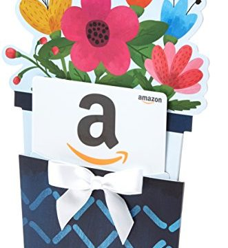 Amazon.com Gift Card in a Flower Pot Reveal