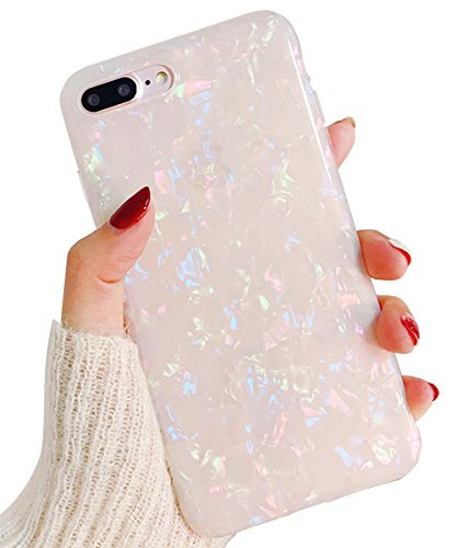 DAMONDY iPhone 6S Plus Case iPhone 6 Plus,3D Pattern Mandala Flower Design Shock with Hand Strip Slim Hard Shell Back Skin Soft TPU Rubber Bumper Armor Built-in Magnetic Metal Plate Case-Blue