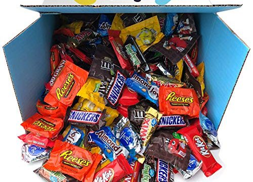 Candy & Chocolate HERSHEY'S Nestle M&M'S Variety Assortment Mix Bulk Value by Variety Fun 90 oz