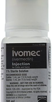 Merial 000683 Ivomec Parasiticide Injection for Swine & Cattle, 50ml