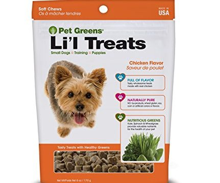 Pet Greens Treats Roasted Chicken Semi-Moist Dog Treat