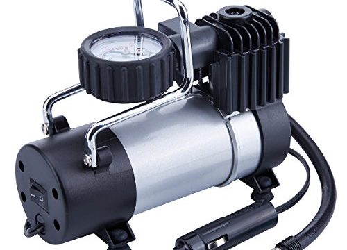Direct Drive Metal Pump 100PSI, Portable Air Compressor with Battery Clamp – TIREWELL 12V Tire Inflator
