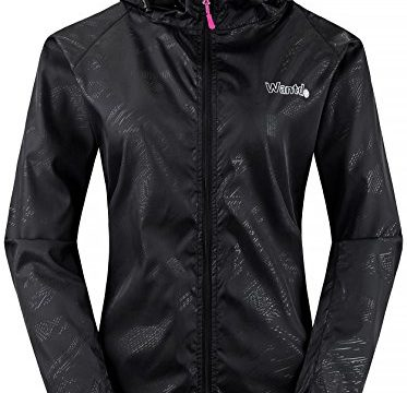 Wantdo Women's Hooded Packable UV Protect Outdoor Windproof Lightweight Jacket