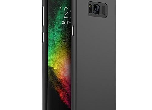 Maxboost Galaxy S8 Plus Case mSnap Black Samsung Galaxy S8+ / S8 Plus Case Anti-Slip Matte Coating Excellent Grip Thin Hard Protective PC Cover for Samsung Galaxy s8 Plus S8+ 2017