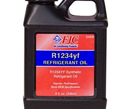 FJC 2458 R1234YF Refrigerant Oil 8. Fluid_Ounces