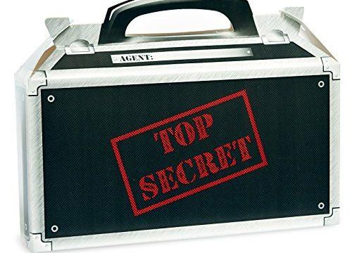 Secret Agent Empty Favor Boxes 4