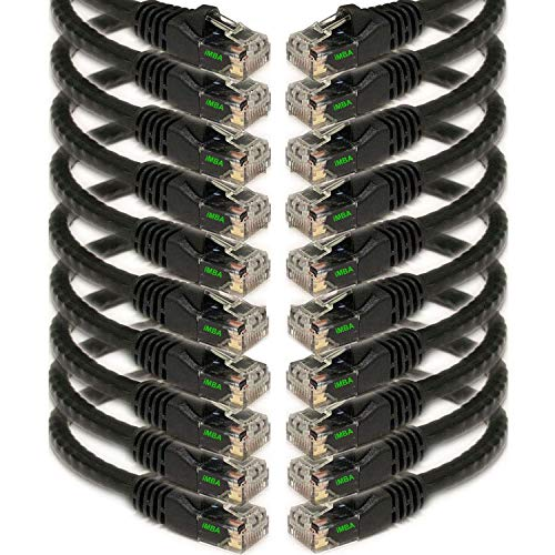 Top 10 Patch Cord Cat6 0.5 FT – Cat 6 Ethernet Cables