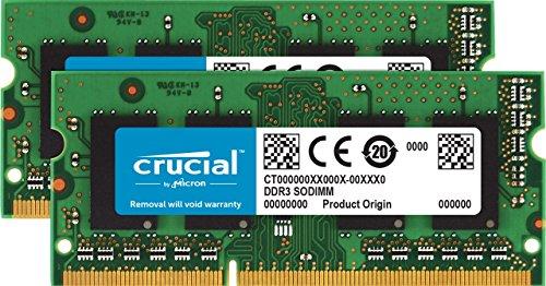 Top 9 16GB Kit 2 x 8GB DDR3L-1600 SODIMM – Computer Memory